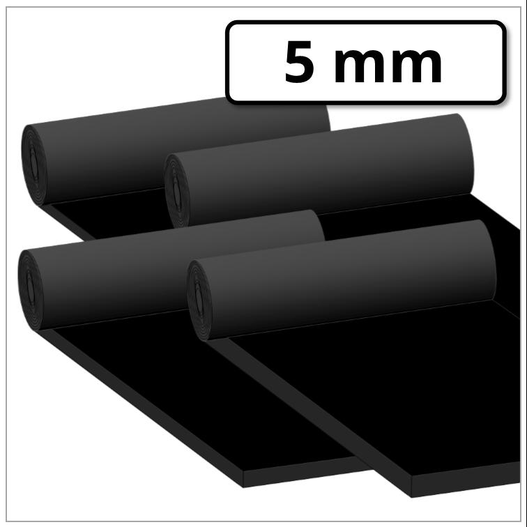 Gummimatte mit Gewebe in der Gr/ö/ße 5000x300x5mm Hartgummi Vollgummi Gummiauflage Gummiunterlage